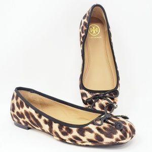 Tory Burch Laila Leopard Driver Loafer Ballet Flat